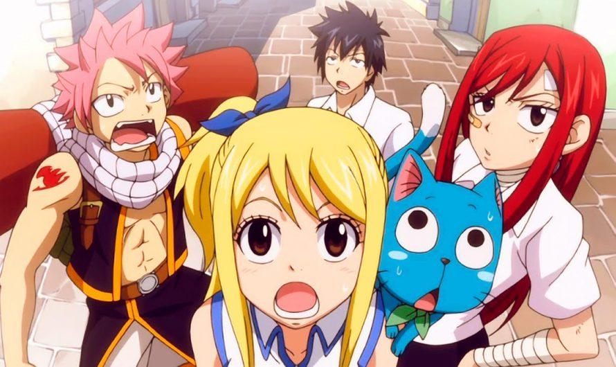 Mangas: Fairy Tail