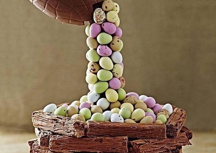 Recette de gâteau de gravité cake : de Pâques